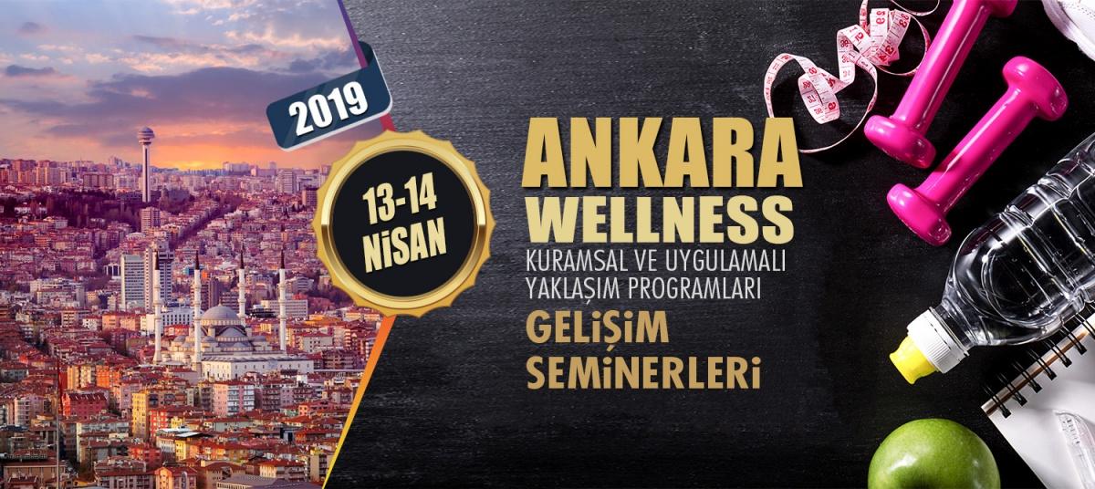 WELLNESS ANTRENÖR GELİŞİM SEMİNERİ 13-14 NİSAN 2019 ANKARA