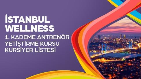 1. KADEME HİS VE WELLNESS YARDIMCI ANTRENÖRLÜK KURSU KURSİYER KATILIM LİSTESİ 15-26 MAYIS 2017 İSTANBUL