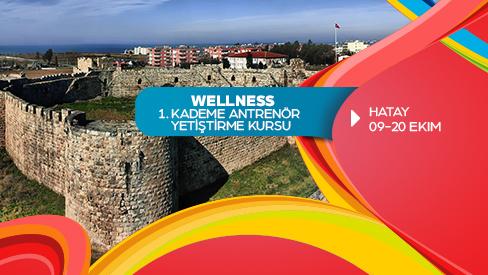 WELLNESS 1. KADEME YARDIMCI ANTRENÖR YETİŞTİRME KURSU 09-20 Ekim 2017 HATAY