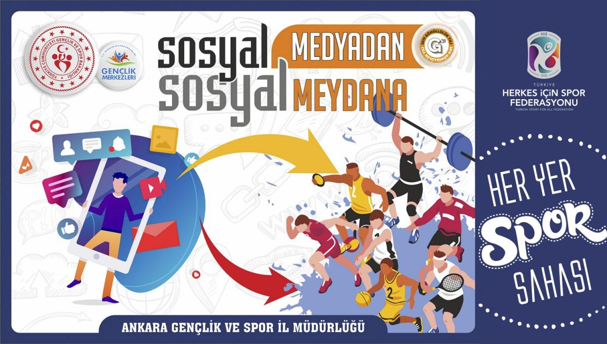 SOSYAL MEDYADAN SOSYAL MEYDANA DEDİK!
