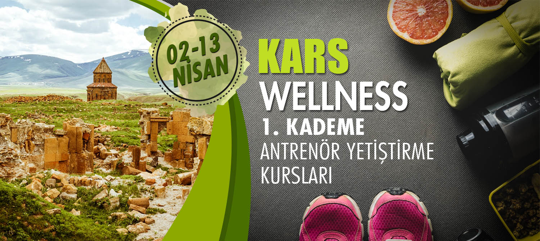 KARS 1. KADEME WELLNESS ANTENÖRLÜK KURSU 02-13 NİSAN