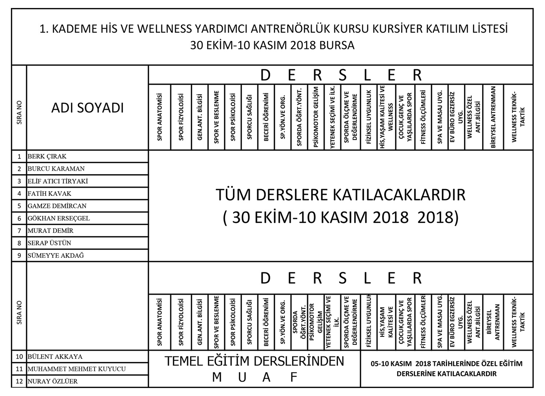 30-EKIM-10-KAISM-BURSA-WELLNESS